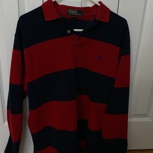 polo long sleeve polo shirt